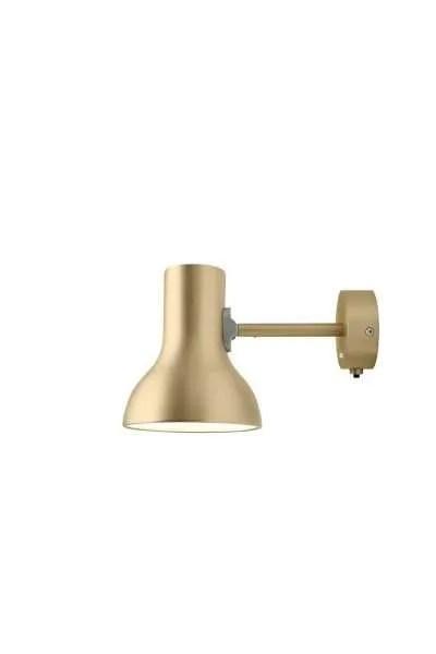 Anglepoise type 75 Mini Wandlamp Gold Lustre 1