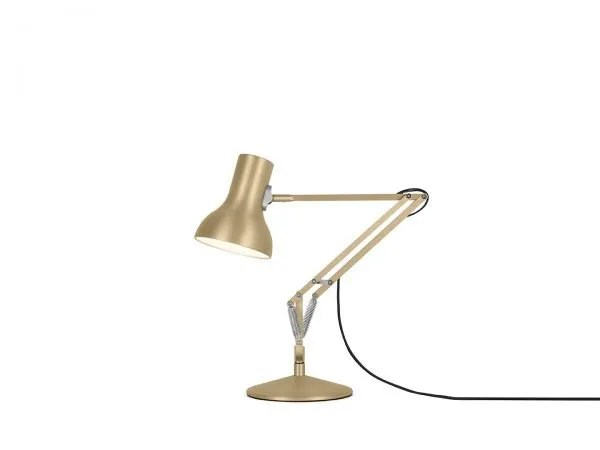 Anglepoise type 75 Mini bureaulamp Gold Lustre 1