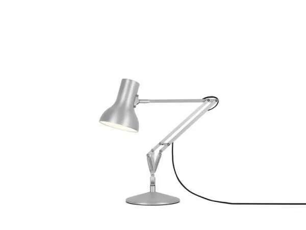 Anglepoise type 75 Mini bureaulamp Silver Lustre 1
