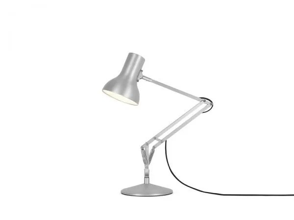 Anglepoise type 75 Mini bureaulamp Silver Lustre 2