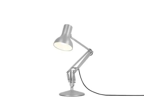 Anglepoise type 75 Mini bureaulamp Silver Lustre 3