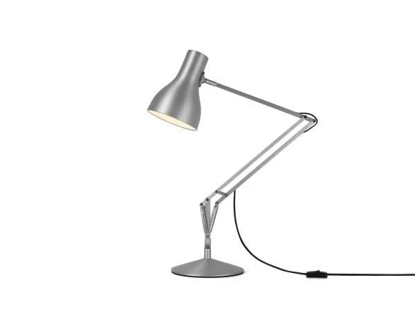 Anglepoise type 75 bureaulamp Brushed Aluminium 2