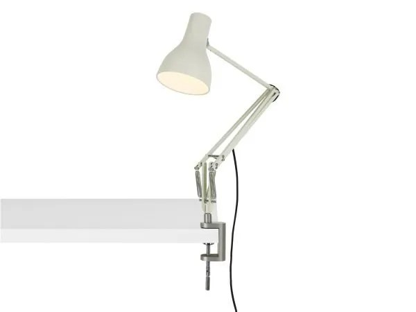 Anglepoise type 75 klemlamp bureaulamp Jasmine White 3