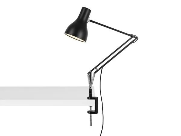Anglepoise type 75 klemlamp bureaulamp Jet Black 2
