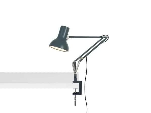 Anglepoise type 75 mini klemlamp Slate Grey 1