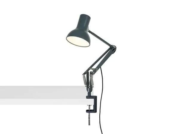 Anglepoise type 75 mini klemlamp Slate Grey 3