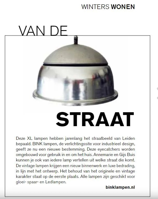 BINK in de media LEVEN magazine