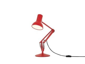 Anglepoise type 75 MIni bureaulamp Signal Red 3