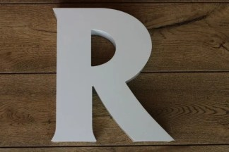 backlit letterlamp R 1