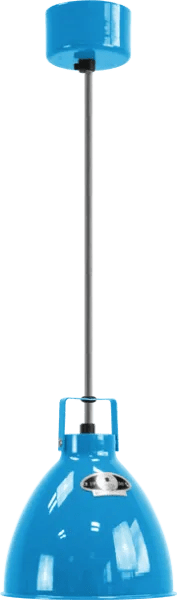 Jielde-Augustin-A160-Hanglamp-Licht-Blauw-RAL-5012