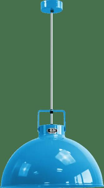 Jielde-Dante-D450-Hanglamp-Licht-Blauw-RAL-5012