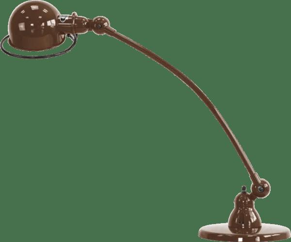 Jielde-Loft-C6000-bureaulamp-Chocolade-RAL-8017