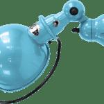 Jielde-Loft-D1000-muurlamp-Pastel-Blauw-RAL-5024