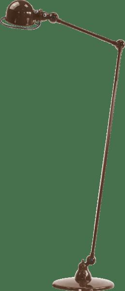 Jielde-Loft-D1240-vloerlamp-Chocolade-RAL-8017