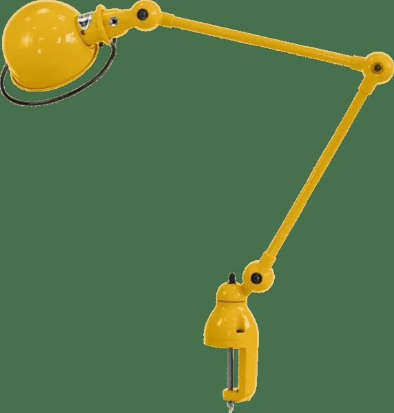 Jielde-Loft-D4040-klemlamp-Mosterd-RAL-1003
