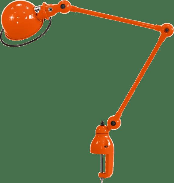 Jielde-Loft-D4040-klemlamp-Oranje-RAL-2004
