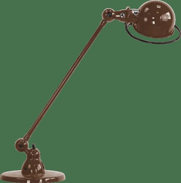 Jielde-Loft-D6000-bureaulamp-Chocolade-RAL-8017
