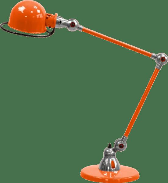 Jielde-Loft-D6440-bureaulamp-duo-Oranje-RAL-2004