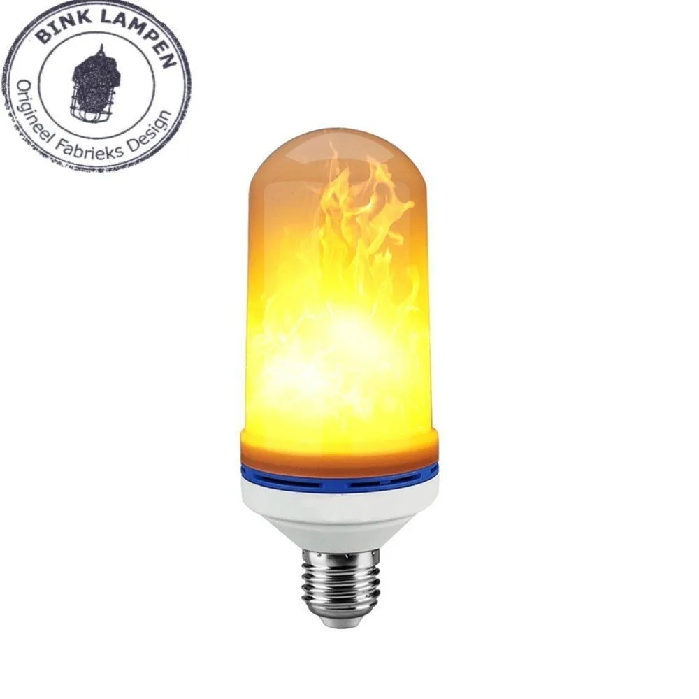 Vlam lamp BINK lampen