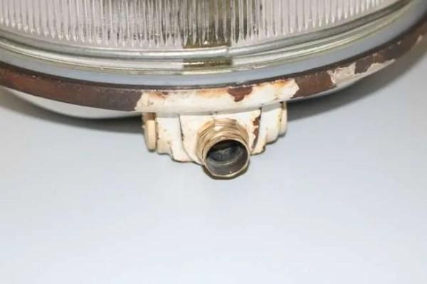 BINK bunkerlamp wandlamp detail