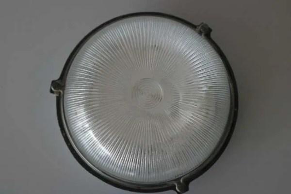 BINK bunkerlamp wandlamp voorkant