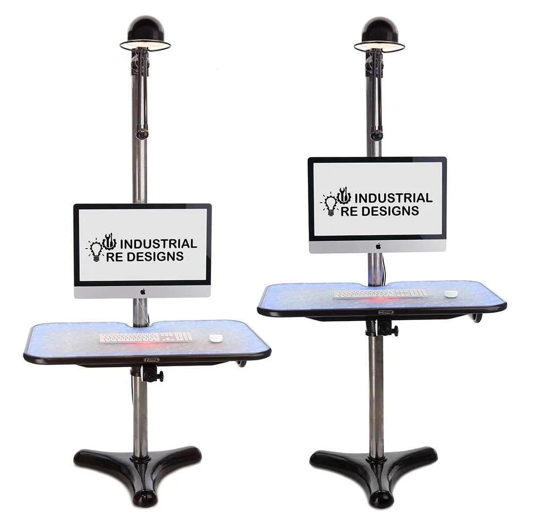 Flex werkplek BINK lampen hoogte verstelbaar