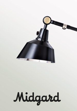 Midgard vloerlamp modulair detail