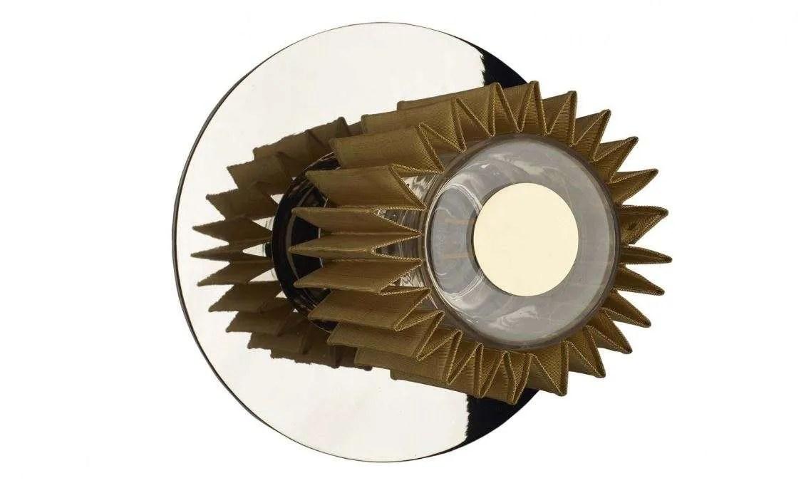 in the sun wandlamp 19 cm zilver goud