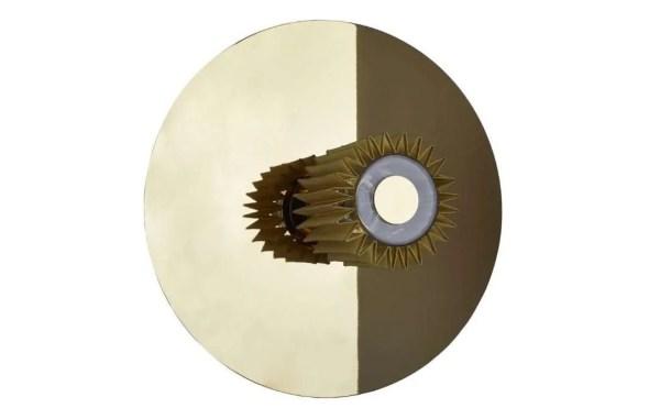 in the sun wandlamp 38 cm goud goud