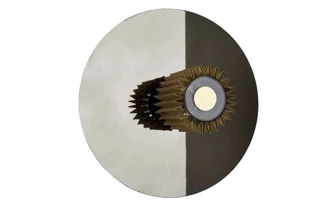 in the sun wandlamp 38 cm zilver goud