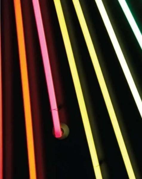 Delightfull letterlamp M detail