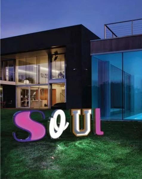 Delightfull letterlamp Soul
