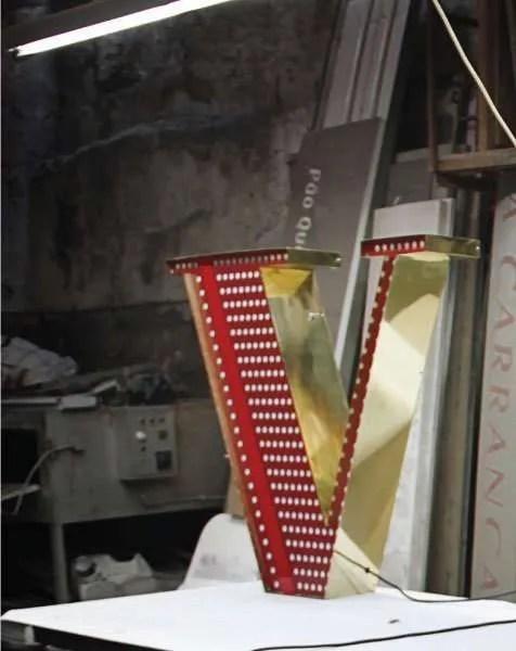 Delightfull letterlamp V 3