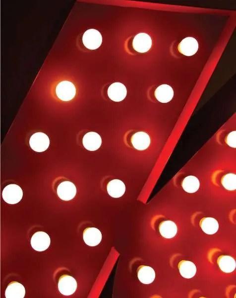 Delightfull letterlamp k detail