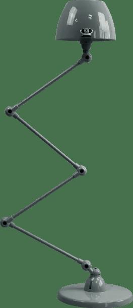 jielde-Aicler-AID433-vloerlamp-graniet-grijs-RAL7026-rond