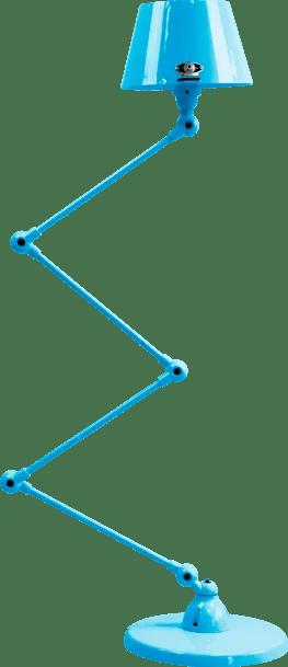 jielde-Aicler-AID433-vloerlamp-lichtblauw-RAL5012