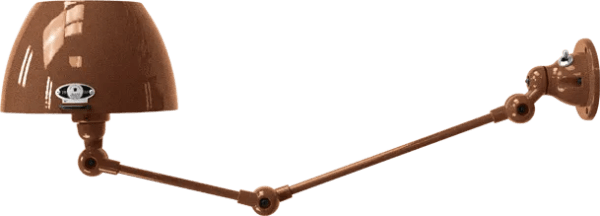 jielde-Aicler-AID731-wandlamp-hamerslag-koper-CUM-rond