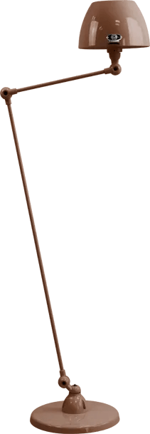 jielde-Aicler-AID833-vloerlamp-chocolade-RAL8017-rond