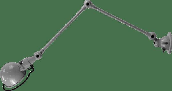 jielde-signal-SI331-wandlamp-Zilver-grijs-RAL9006