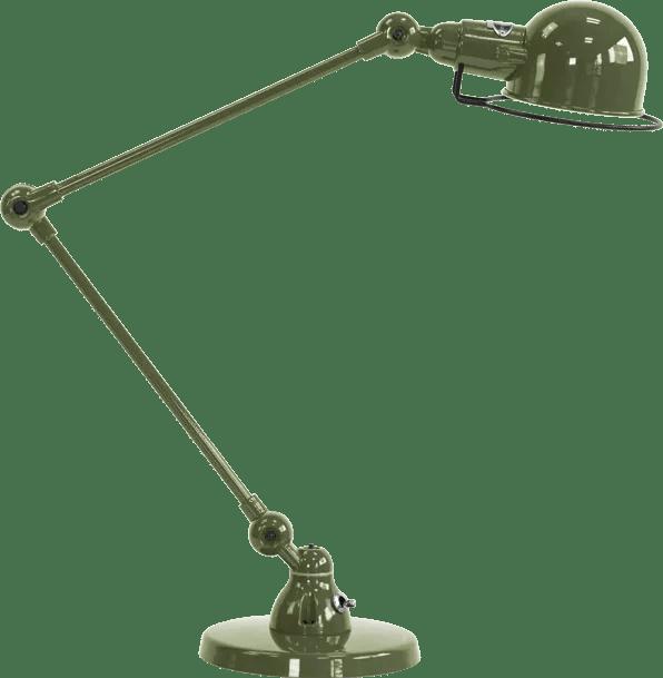 jielde-signal-SI333-bureaulamp-olijf-groen-RAL6003
