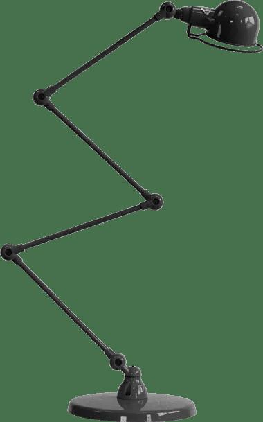 jielde-signal-SI433-vloerlamp-zwart-hamerslag-NOM