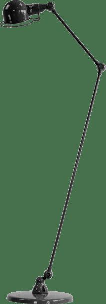 jielde-signal-SI833-vloerlamp-hamerslag-zwart-NOM