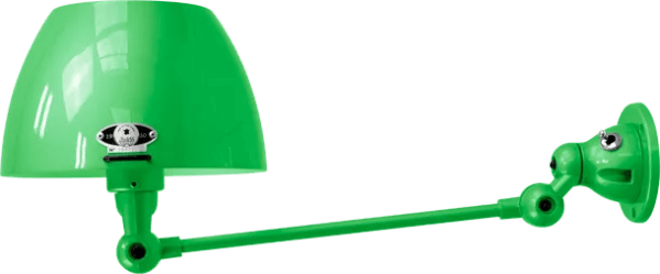 jielde-Aicler-AID301-wandlamp-appel-groen-RAL6018-rond