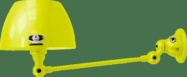 jielde-Aicler-AID301-wandlamp-geel-RAL1016-rond