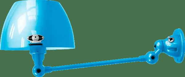 jielde-Aicler-AID301-wandlamp-lichtblauw-RAL5012-rond