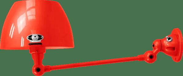 jielde-Aicler-AID301-wandlamp-rood-RAL3020-rond