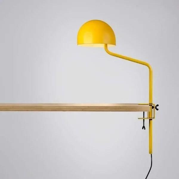 geel-wit-tafelklem-klemlamp-officer-revolt-BINK-leiden-lamp