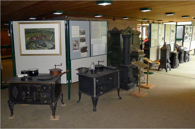 Blick in die Rathausausstellung