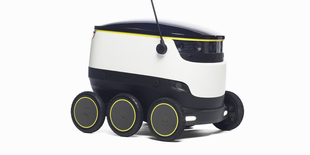 Robot grocery delivery system