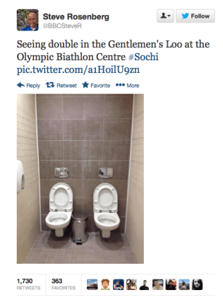Steve Rosenburg Toilet Tweet